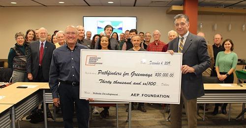 AEP Greenways Award